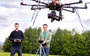noticias con drones