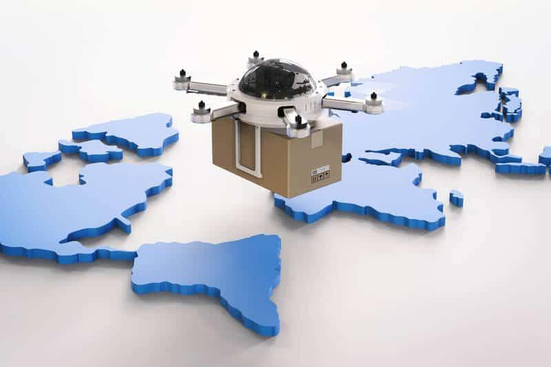 Drones en el mundo