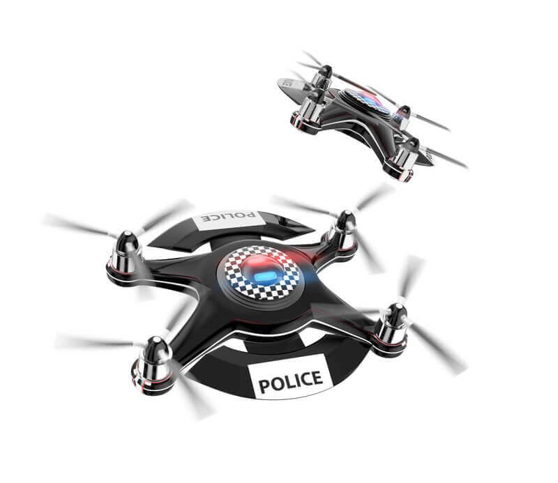 drones policia