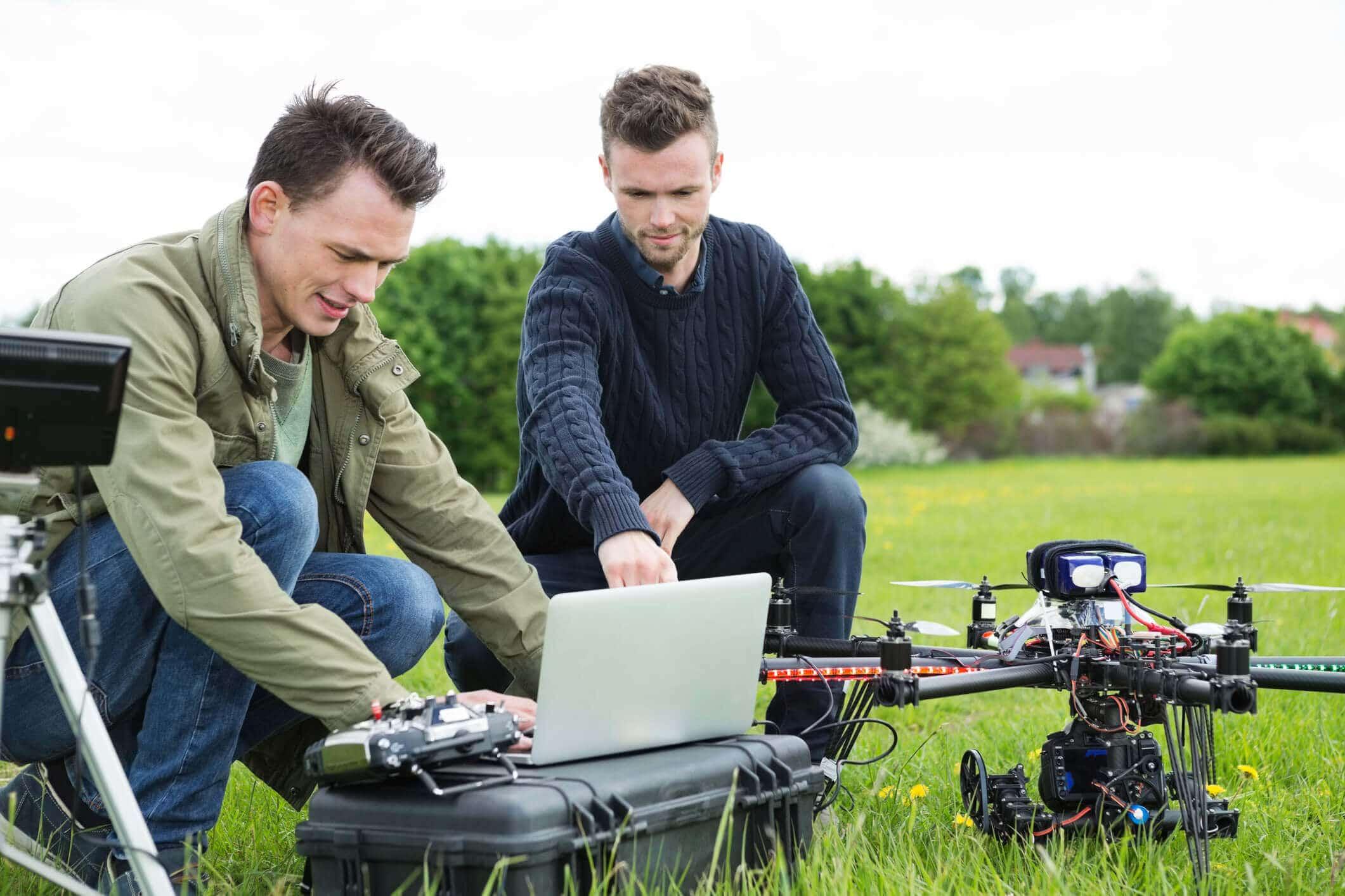 Las Empresas utilizan drones para ofrecer nuevos servicios