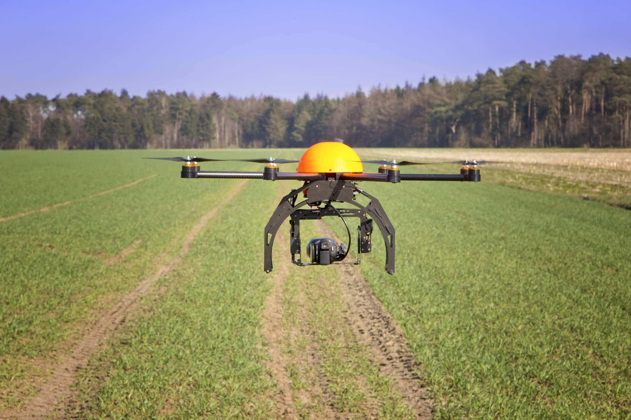 Drones ya automatican los procesos en la agricultura.