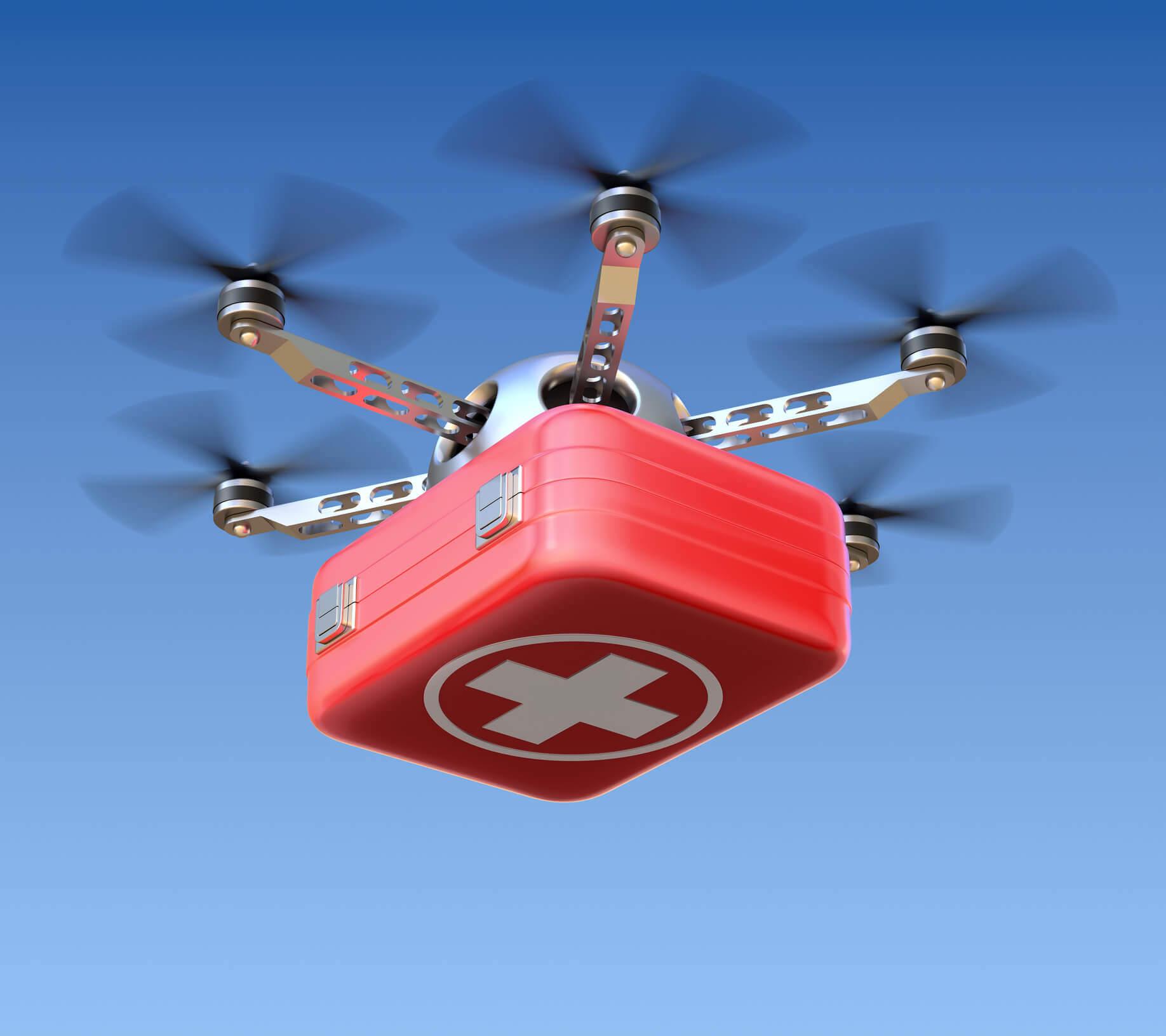 Directline y el proyecto está abierto a los drones que iluminan tu camino