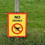 proibido drones