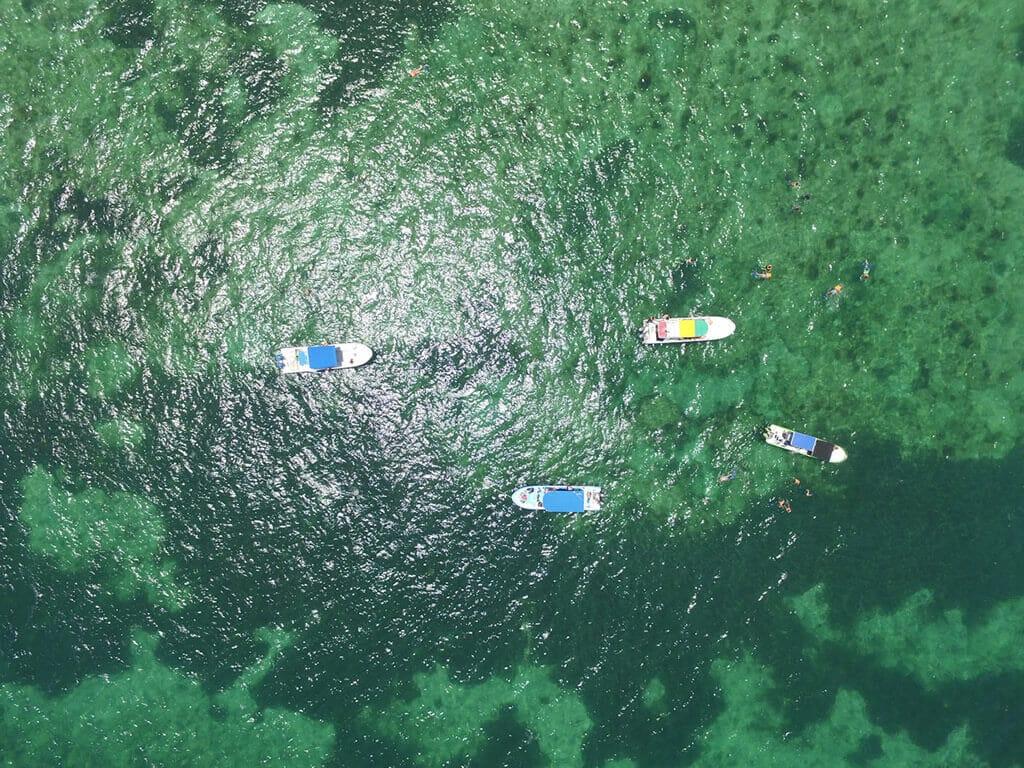 Drones Vista al Mar